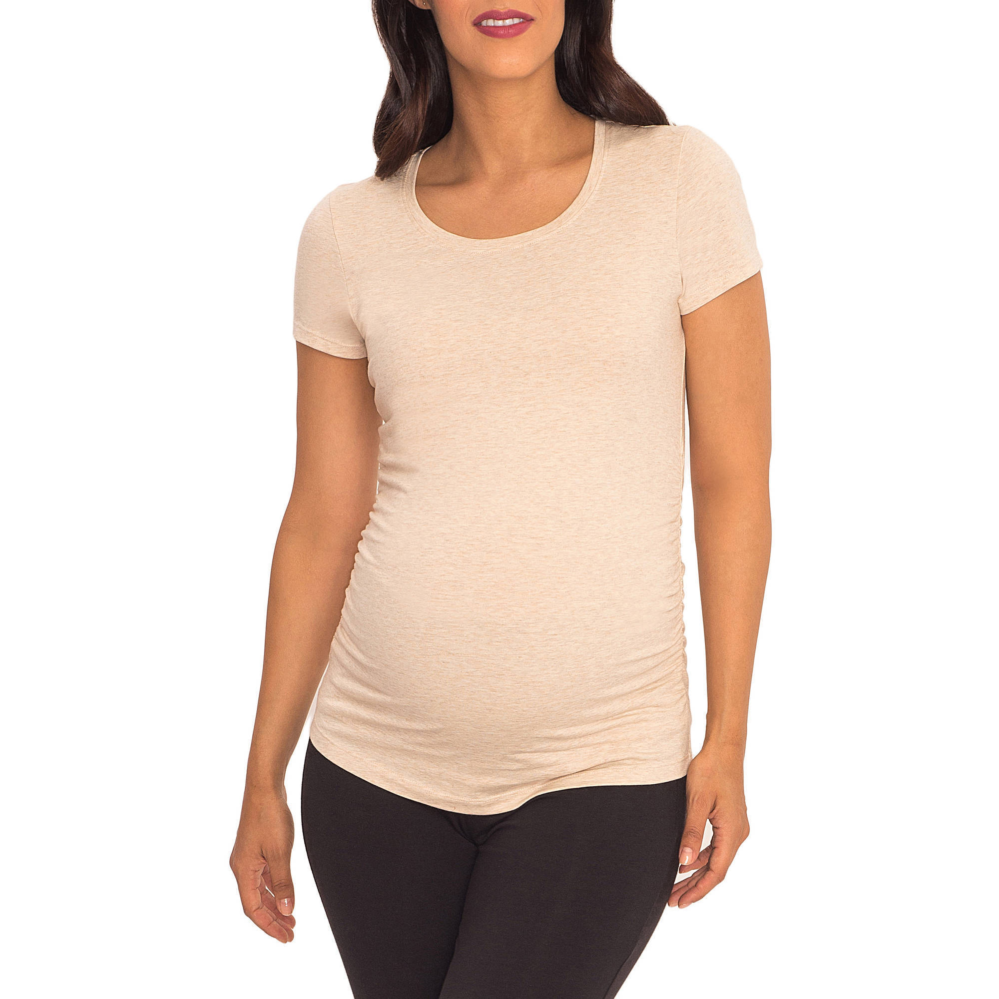 Great Expectations Maternity Short-Sleeve Scoop Neck Tee