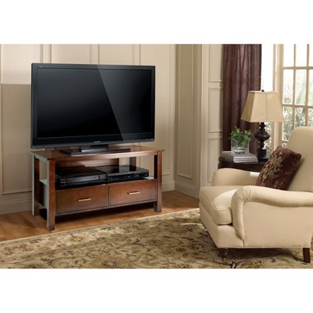 Bell'O TV Stand for TVs up to 46″, Espresso