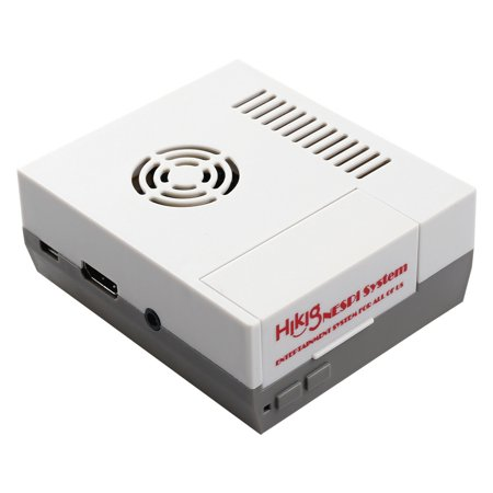 NES Case with Air Ventilation for Raspberry Pi 3 B+, Raspberry Pi 3, 2 and B+ - Gray +