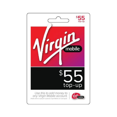 Virgin Mobile $55 Airtime Card