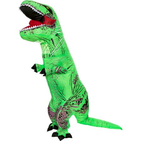 Splurge Worthy Toys Adult Inflatable Jurassic T-Rex Dinosaur Halloween Costume - Pagan Halloween Name