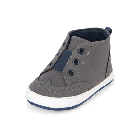 The Children's Place Baby Boys' Mid Rise Casual (Best Track Shoes For Mid Distance)