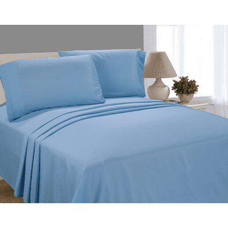 Mainstays Microfiber Solid Sheet Set, Multiple Colors (Peanuts Sheets Twin)