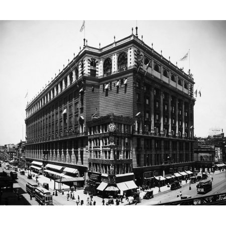 Stretched Canvas Art - New York: Macy\'S, 1908. /Nmacy\'S Department ...