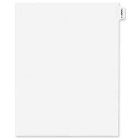 Legal Index Exhibit Dividers (Avery Legal Exhibit Index Divider 82120)