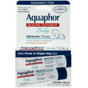6 Pack - Aquaphor Baby Healing Ointment Advanced Therapy 2 tubes 0.35 oz