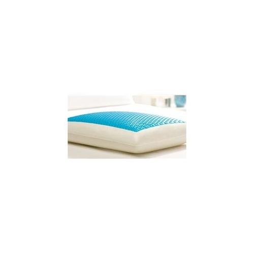 Comfort Revolution CERULEAN BUBBLES Hydraluxe Cooling Gel Bed Pillow (King)