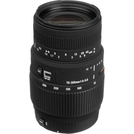 Sigma 70-300mm f/4.0-5.6 DG Macro Zoom Lens (for Canon EOS