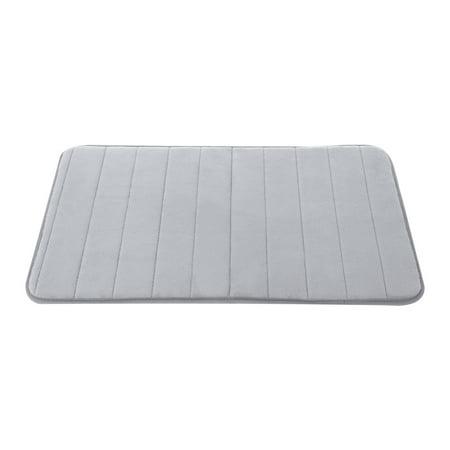 Memory Foam Absorbent Bath Floor Mat Rug Shower Carpet