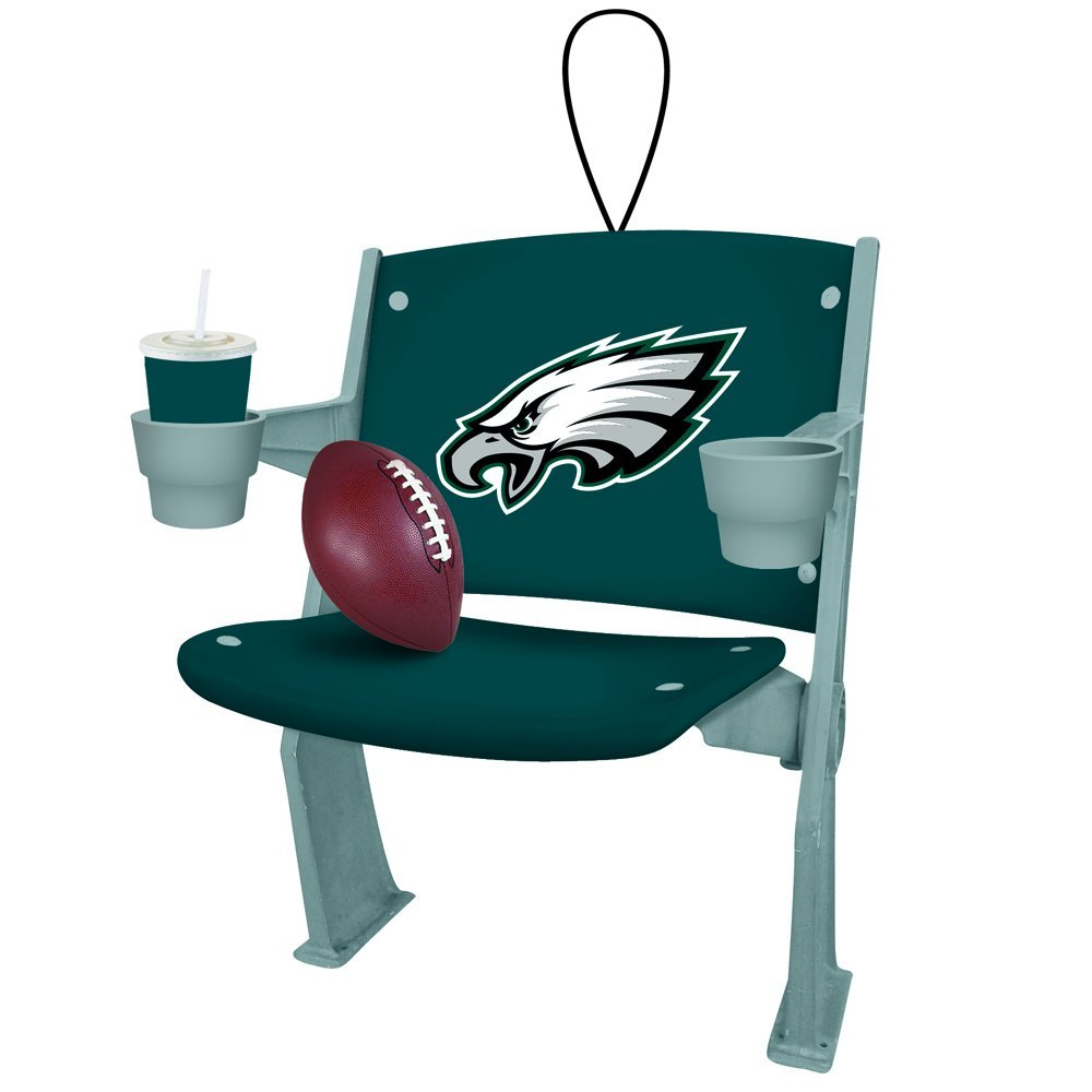 Philadelphia Eagles Football Stadium Chair Christmas Ornament