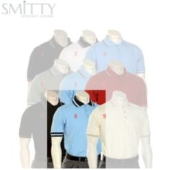 Smitty Umpire Shirt - Placket - Short Sleeve - MLB Powder Blue - L