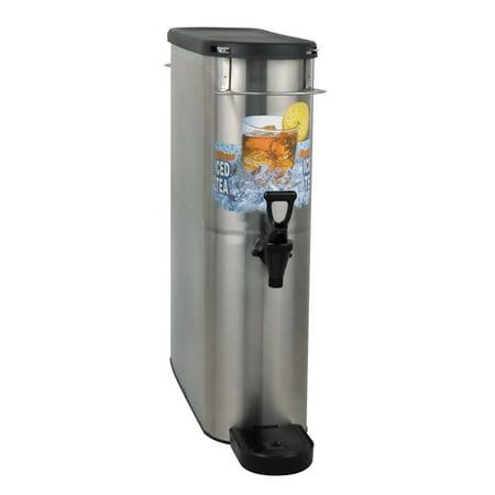 BUNN 39600.0002 Stainless 4-Gallon Iced Tea Dispenser Bunn Stainless Steel Beverage Dispenser