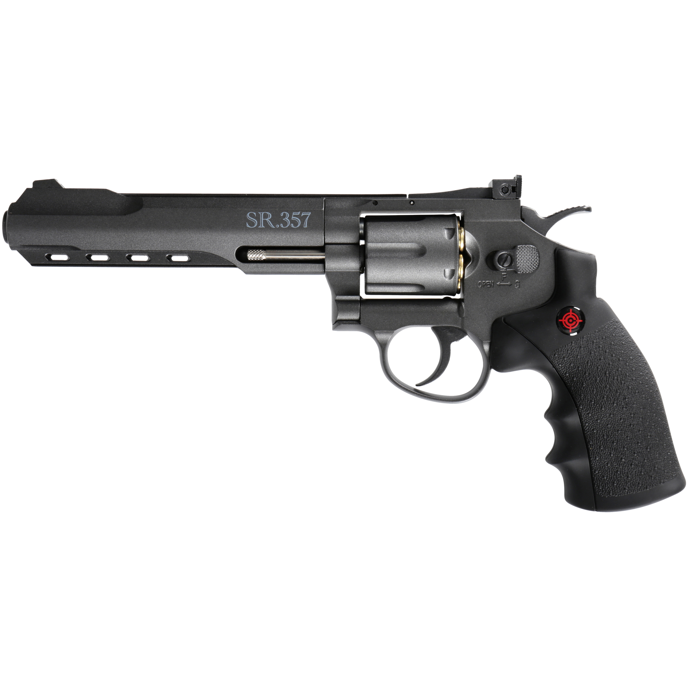 Crosman CRVL357B CO2 Powered 6 Shot Revolver Air Pistol by Crosman