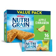 Kellogg's Nutri-Grain Soft Baked Breakfast Bars Apple Cinnamon Value Pack 20.8 Oz