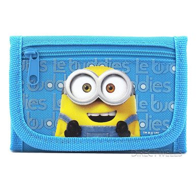 Wallet - Despicable Me - Minions Trifold Navy New 920207-navy