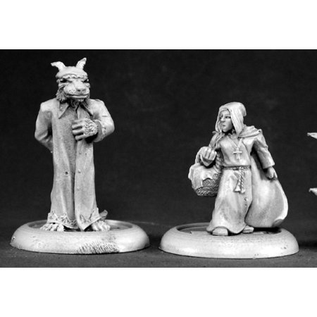 Reaper Miniatures Red Riding Hood and Big Bad Wolf #50073 Chronoscope - Hooded Reaper