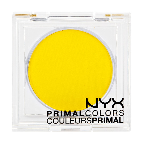 NYX Primal Colors - Hot Yellow