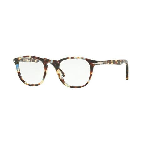 e1d12093a8 Eyeglasses Persol PO 3143 V 1058 HAVANA AZURE BROWN - Walmart.com