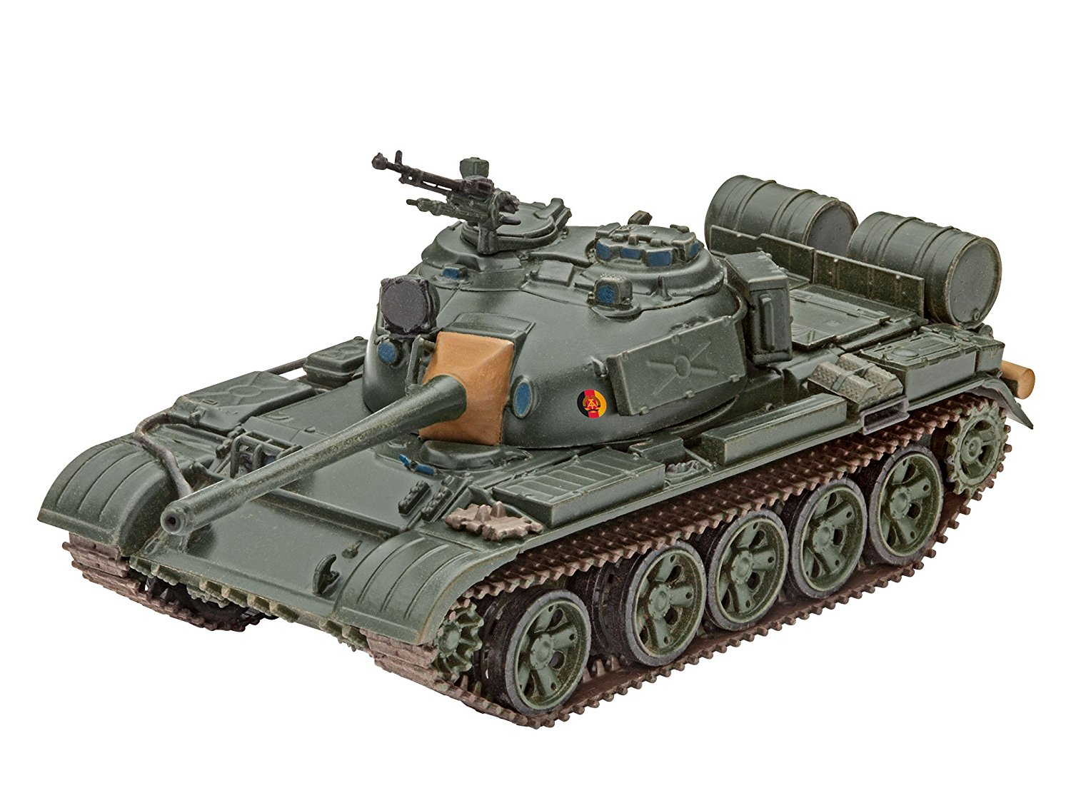 "03304 12.4cm ""t-55 A am"" Model Kit, Super detailed surfaces By Revell by"