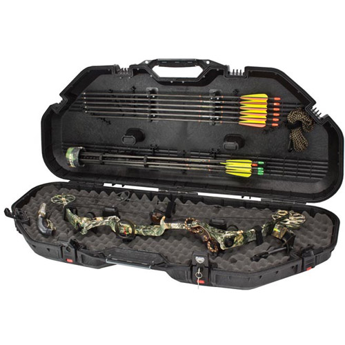 Plano PillarLock All Weather Compound Bow Case, Black