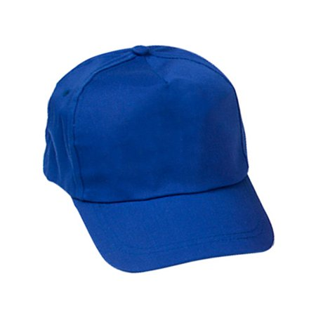 - Adults Dark Blue Color Baseball Hat Costume Accessory