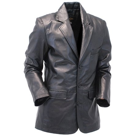 Lambskin Leather Jacket - Blazer #M160L
