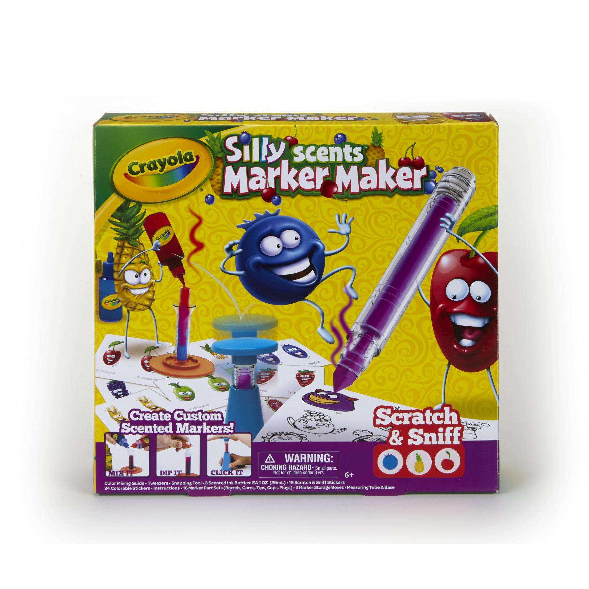 Crayola Silly Scents Marker Maker Kit: Make Your Own Smelly Markers by Crayola