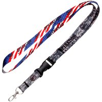 """NCAA WinCraft 3/4"""" Operation Hat Trick Lanyard with Buckle - Multi - No Size"""