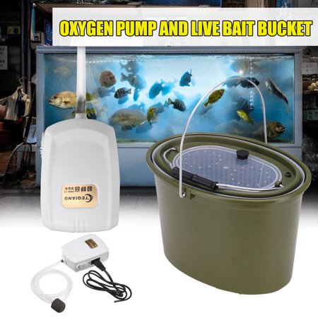 31*21*21cm Outdoors Fishing Insulated Minnow Bucket