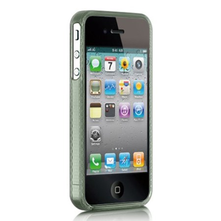 iPhone 4s case by Insten Rubber Silicone Soft Skin Gel Case Cover For Apple iPhone