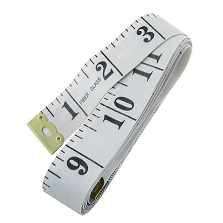 Tailor Seamstress 150cm 60 Inch Tape Measure Fiber Glass Ruler White - image 1 of 1