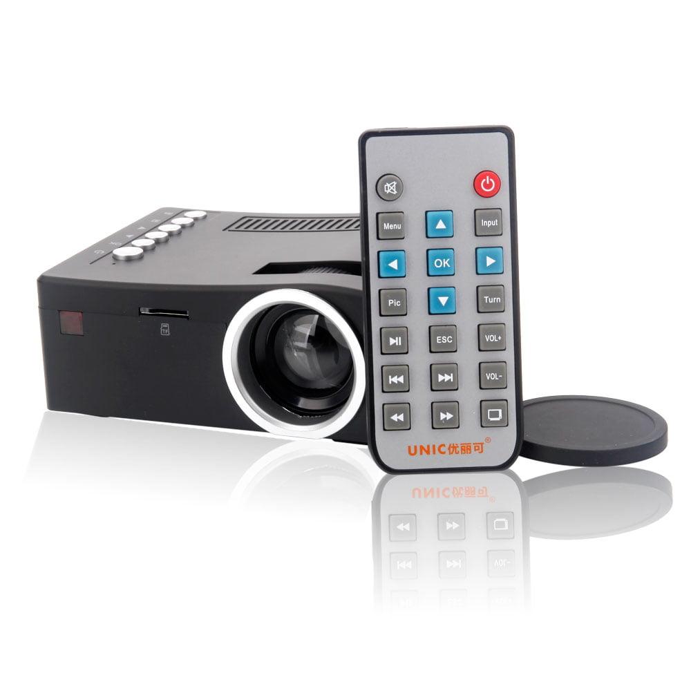 Ktaxon New UNIC UC18 48LM 1080P 3D LED LCD Projector Mult...