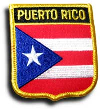 Puerto Rico Shield Patch