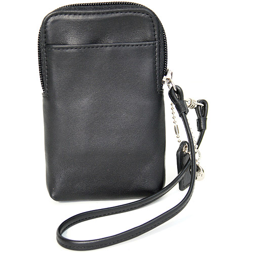 Royce Leather Women's Chic iPhone Camera Wristlet Wallet in Genuine Leather