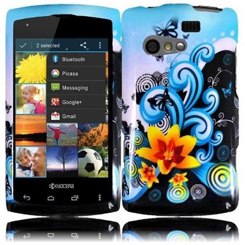 INSTEN For Kyocera Rise C5155(Virgin Mobile, Sprint) Design Phone Hard Case Yellow Lily