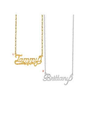 433b0ebf55d Buy One Get One at 50% Off. Personalized Name Necklaces