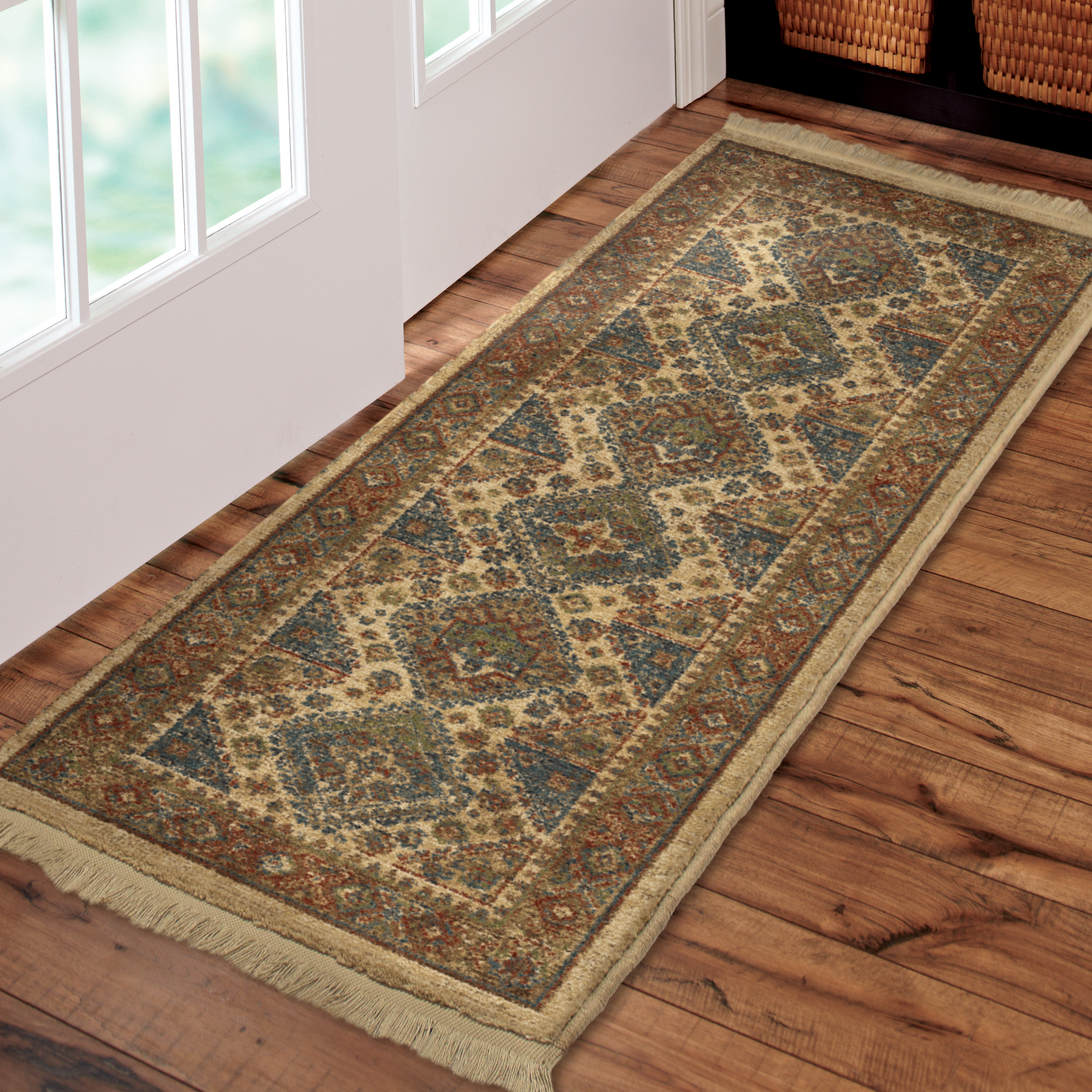 orian circles multi gardens homes optim dotted gomaz x ip bright iron runner collection and garden fleur rug area better