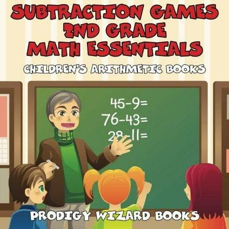 Subtraction Games 2Nd Grade Math Essentials   Childrens Arithmetic Books