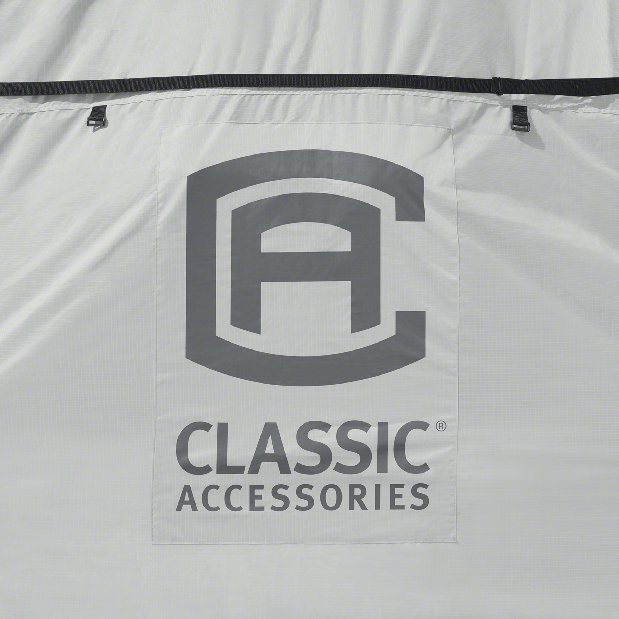 Classic Accessories OverDrive SkyShield Deluxe Tyvek 5th Wheel Trailer Cover, Fits 29' - 33' Trailers - Water Repellent Tyvek RV Cover (80-364-101701-EX) - image 1 of 2