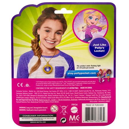 2e3c612bf8f Polly Pocket Tiny Power! Signature Locket with Magical Lights - Walmart.com