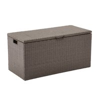 Better Homes and Gardens Rush Valley Wicker Deck Box