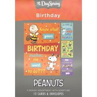 Birthday - Inspirational Boxed Cards - Peanuts