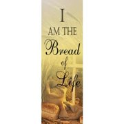 Vcp Wholesale 27716 Banner Commun I Am The Bread Of Life Indoor