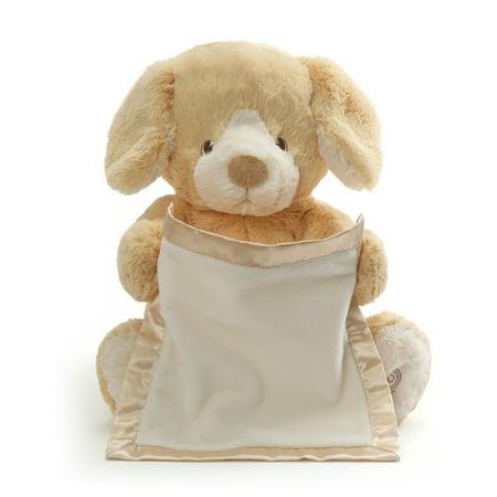"Animated Plush Toy (Peek-A-Boo Puppy Animated Sound Plush Toy Tan 10"")"