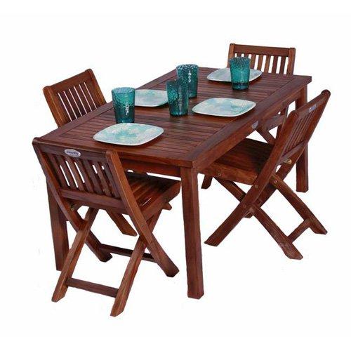 JazTy Kids Rectangle Table ; Chair Set - Seats 4