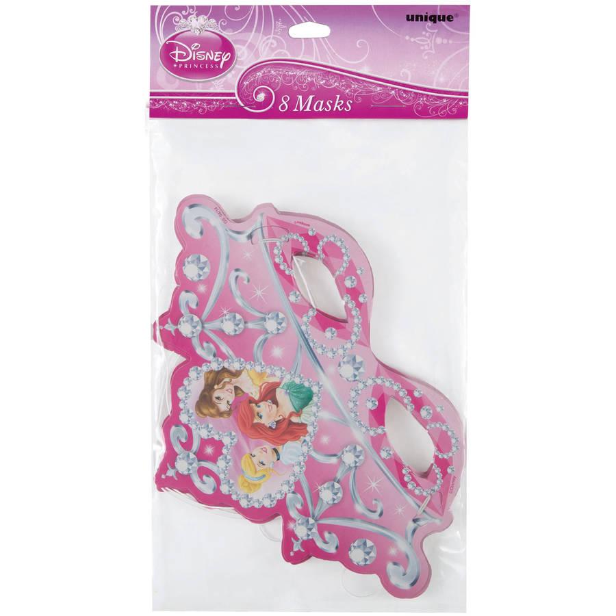 Disney Princess Party Masks, 8ct