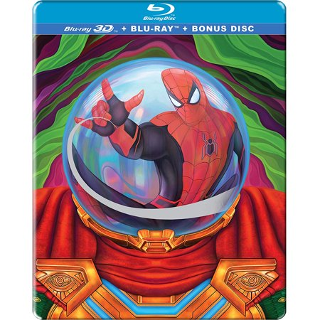 Spider-man: Far From Home (3D + Blu-ray)