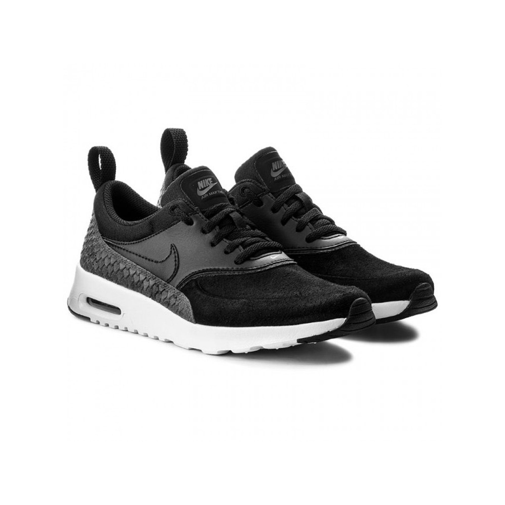 grand choix de c6ac8 a40ba Nike Womens Air Max Thea PRM Low Top Lace Up Running Sneaker