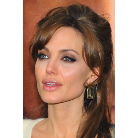 Angelina Jolie At Arrivals For The Tourist Premiere The Ziegfeld Theatre New York Ny December 6 2010 Photo By Gregorio T Binuyaeverett Collection Photo Print