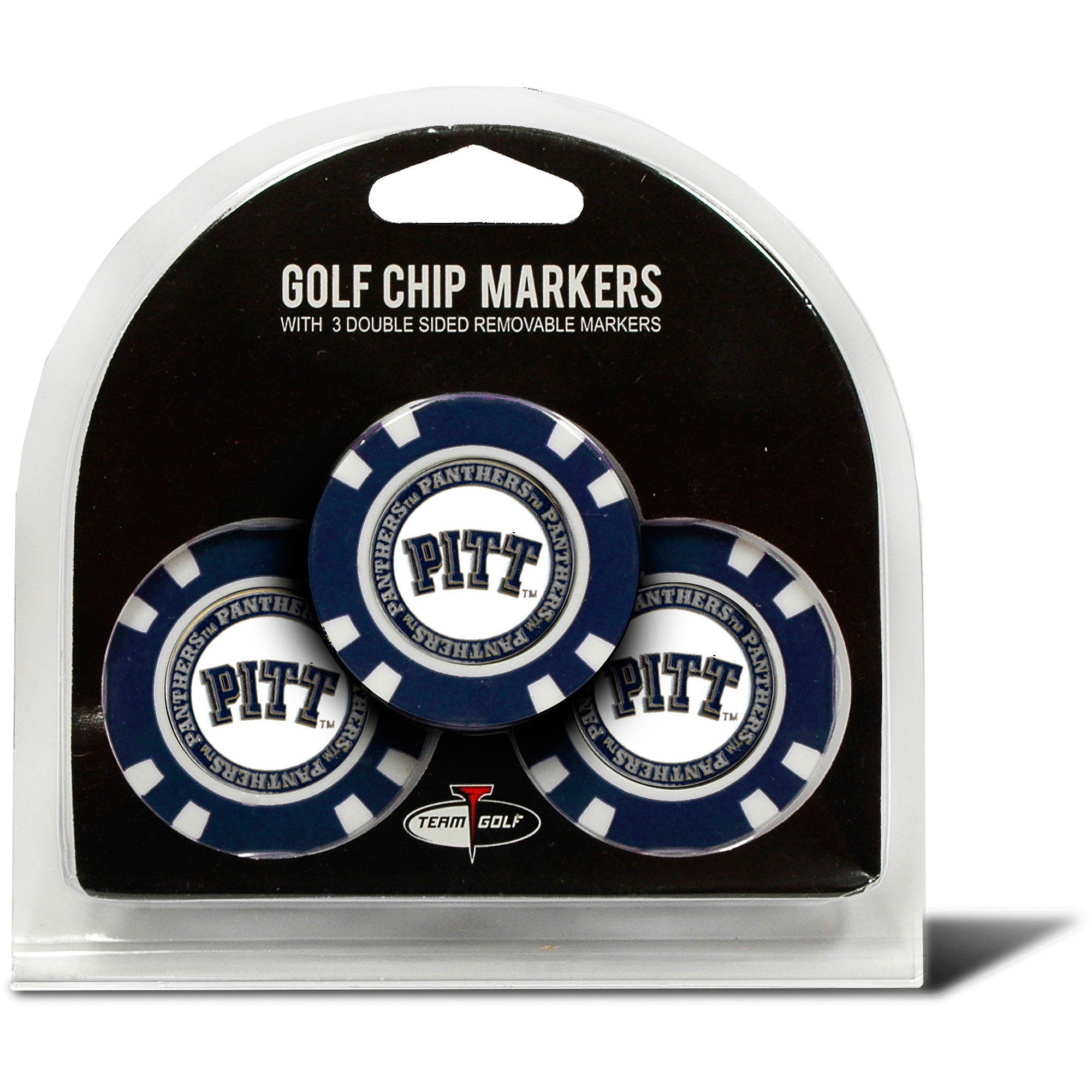 Pittsburgh  3 Pack Golf Chip